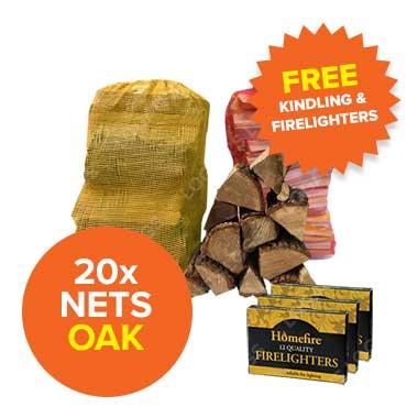 Special Offer - 20 Oak Nets