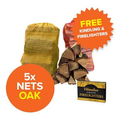 Special Offer - 5 Oak Nets