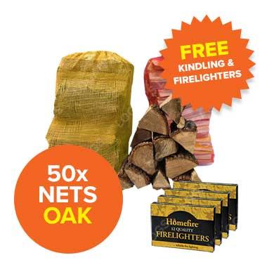 Special Offer - 50 Oak Nets