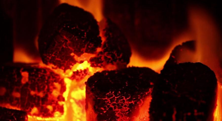 Burning House Coal