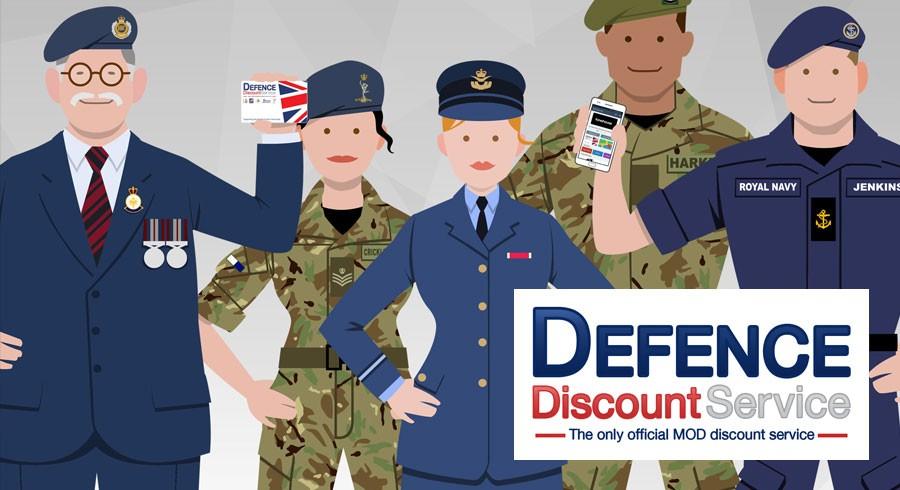 MOD Discount Service