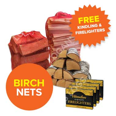 Summer Sale: Birch Hardwood in Nets