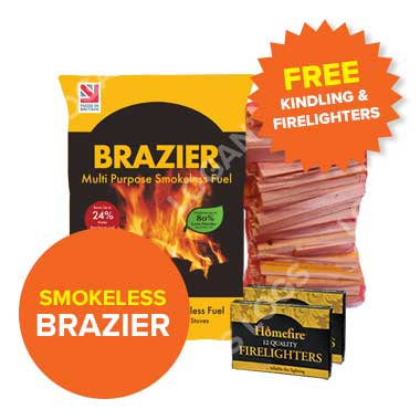 Summer Sale: Brazier Smokeless fuel