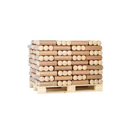 Eco Briquette Heat Log - Half Pallet