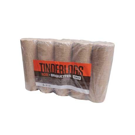 Eco Briquette Heat Log - Stack