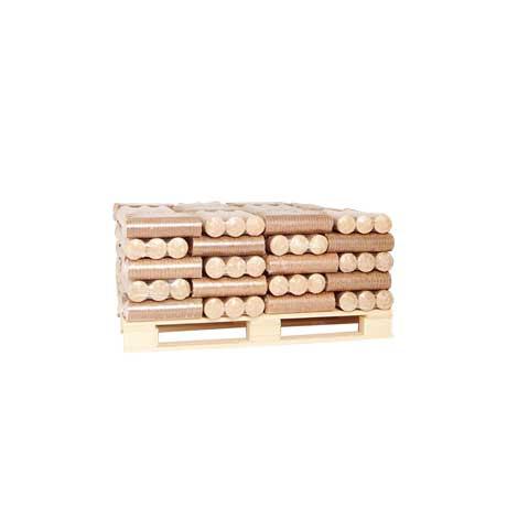 Eco Briquette Heat Log - Quarter Pallet