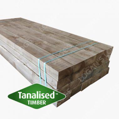 Tanalised Softwood Sleeper - Long.
