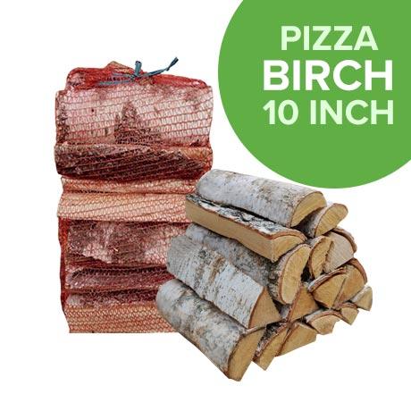 Kiln Dried Pizza Birch Hardwood in Nets