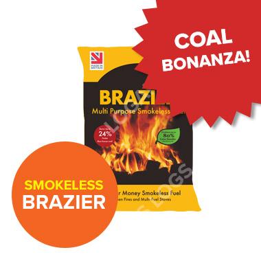 Coal Bonanza - Brazier Smokeless Fuel