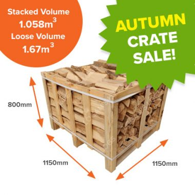 Autumn Crate Sale - Kiln Dried Birch